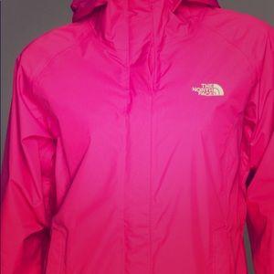 Pink Northface Rain Jacket XL